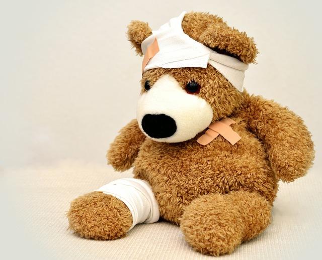 jouet pour enfant malade